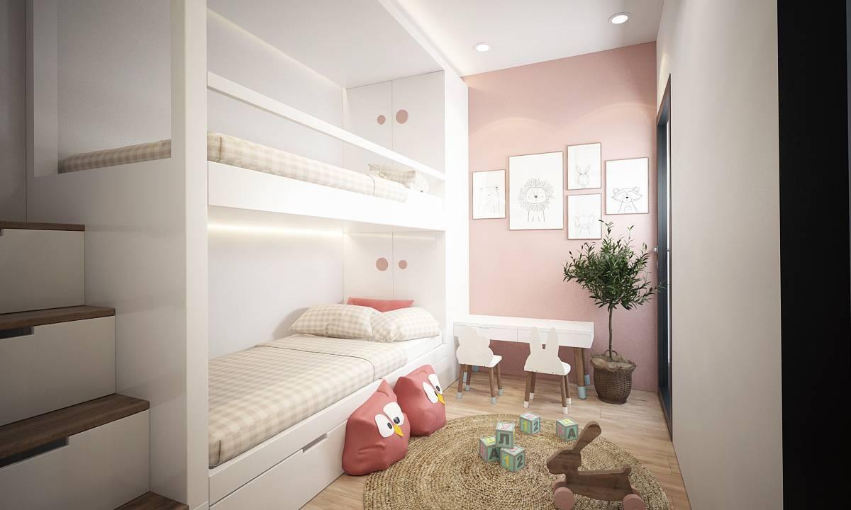Nội thất phòng ngủ kid